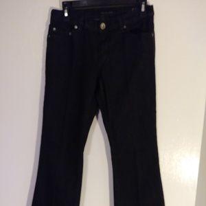 Calvin Klein jeans black flare size 4